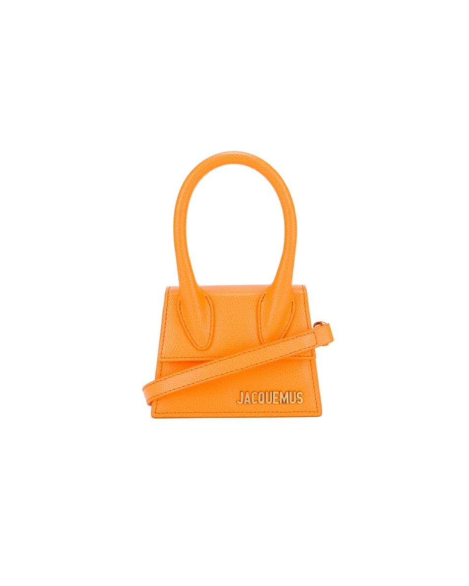 Image 1 of JACQUEMUS Le Chiquito Bag in Orange