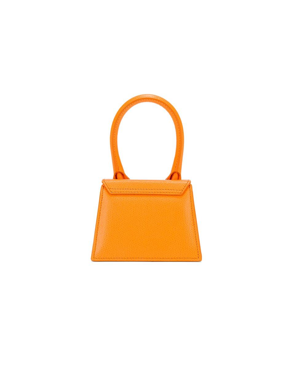 Image 2 of JACQUEMUS Le Chiquito Bag in Orange