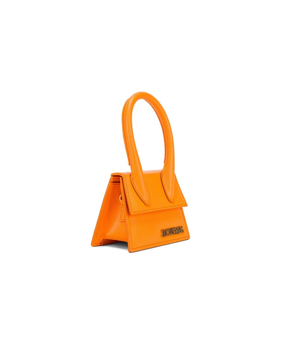 Image 3 of JACQUEMUS Le Chiquito Bag in Orange