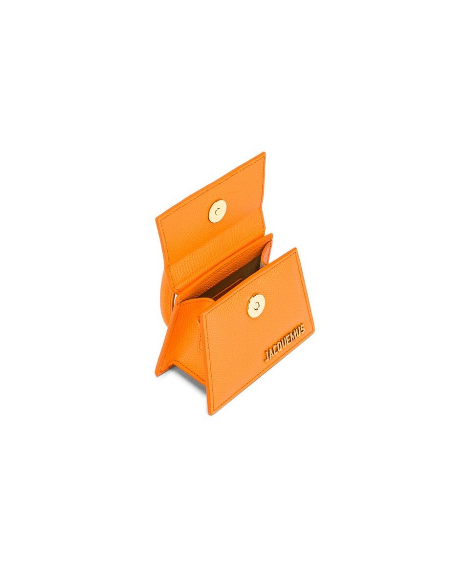 Image 4 of JACQUEMUS Le Chiquito Bag in Orange