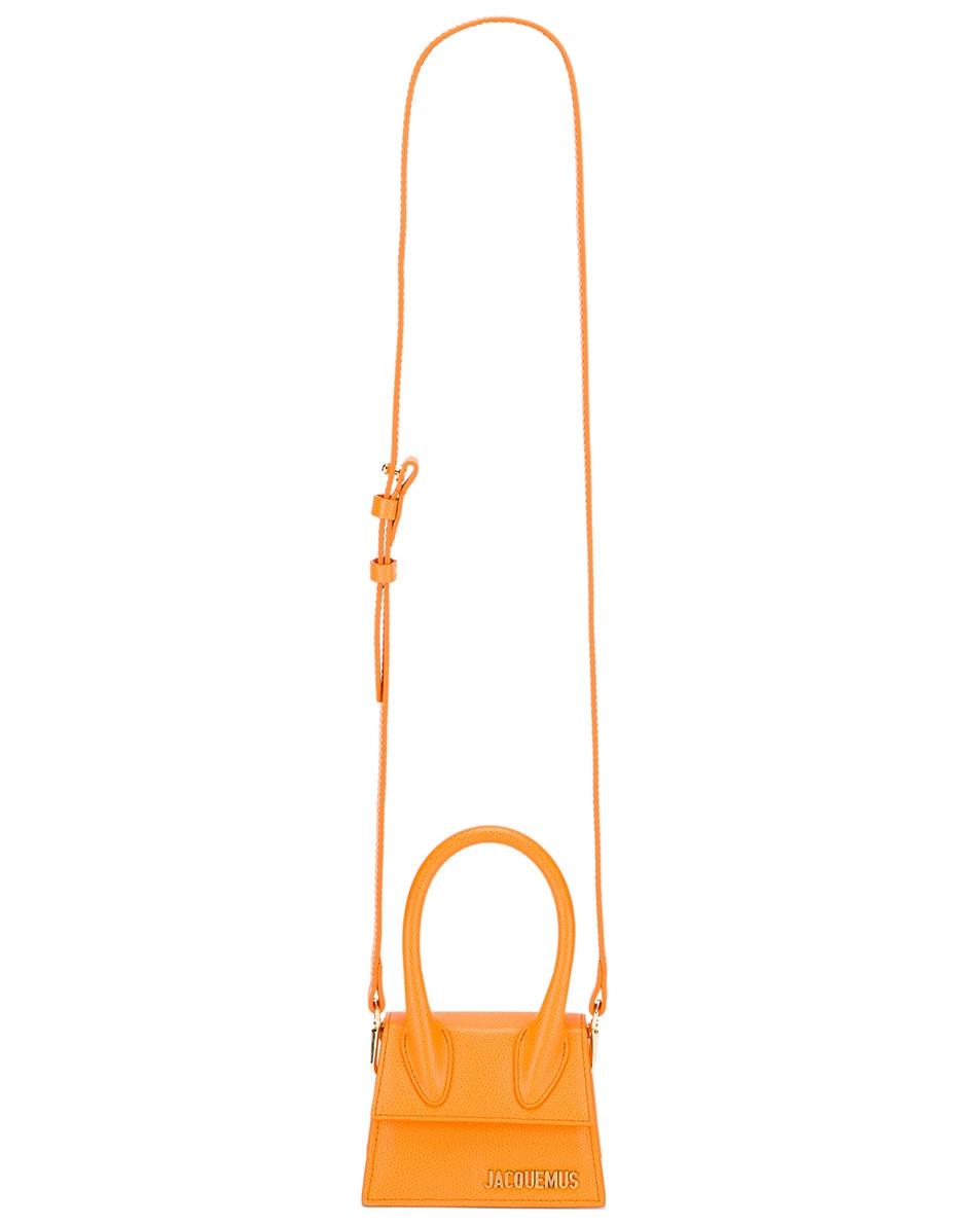 Image 5 of JACQUEMUS Le Chiquito Bag in Orange