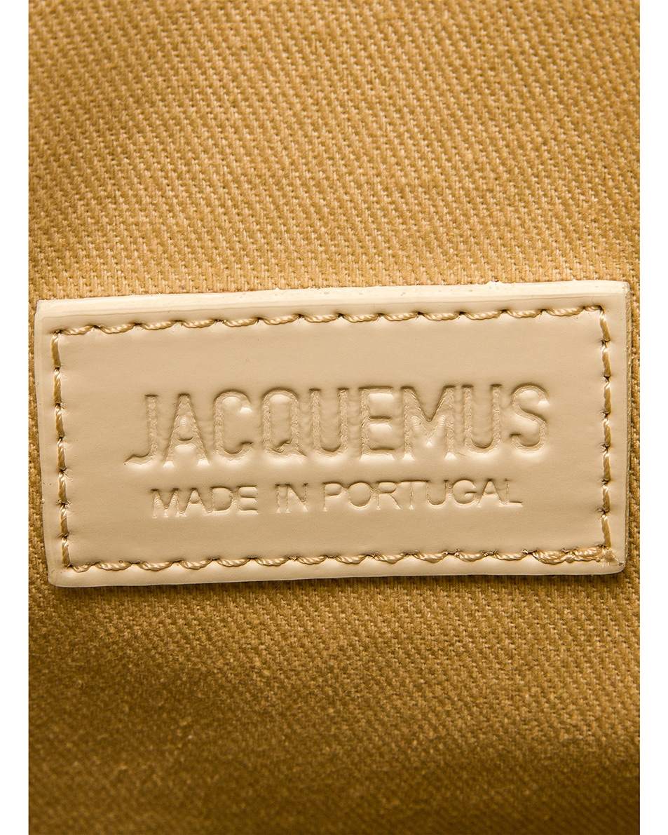 Image 7 of JACQUEMUS A4 Tote Bag in Off White