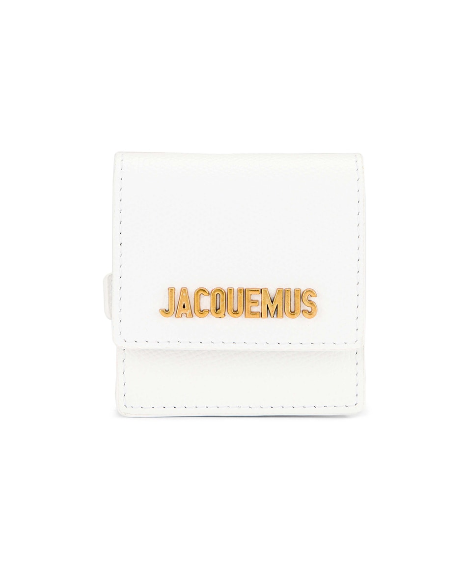 Image 1 of JACQUEMUS Le Sac Bracelet in White