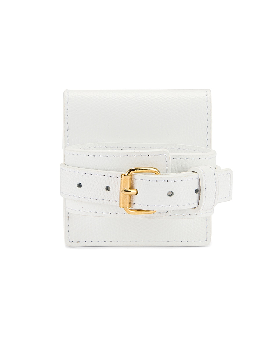 Image 3 of JACQUEMUS Le Sac Bracelet in White