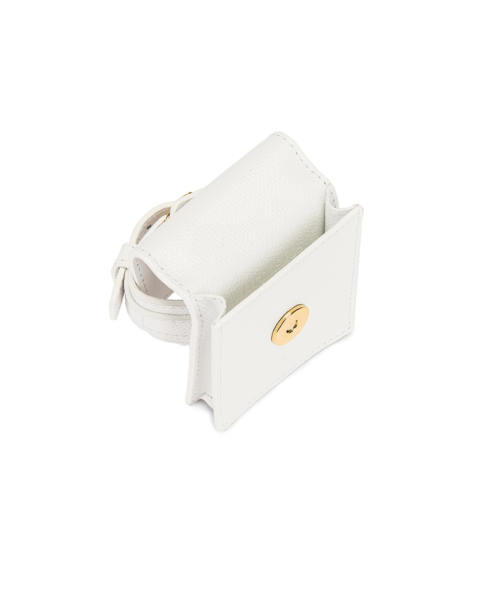 Image 5 of JACQUEMUS Le Sac Bracelet in White