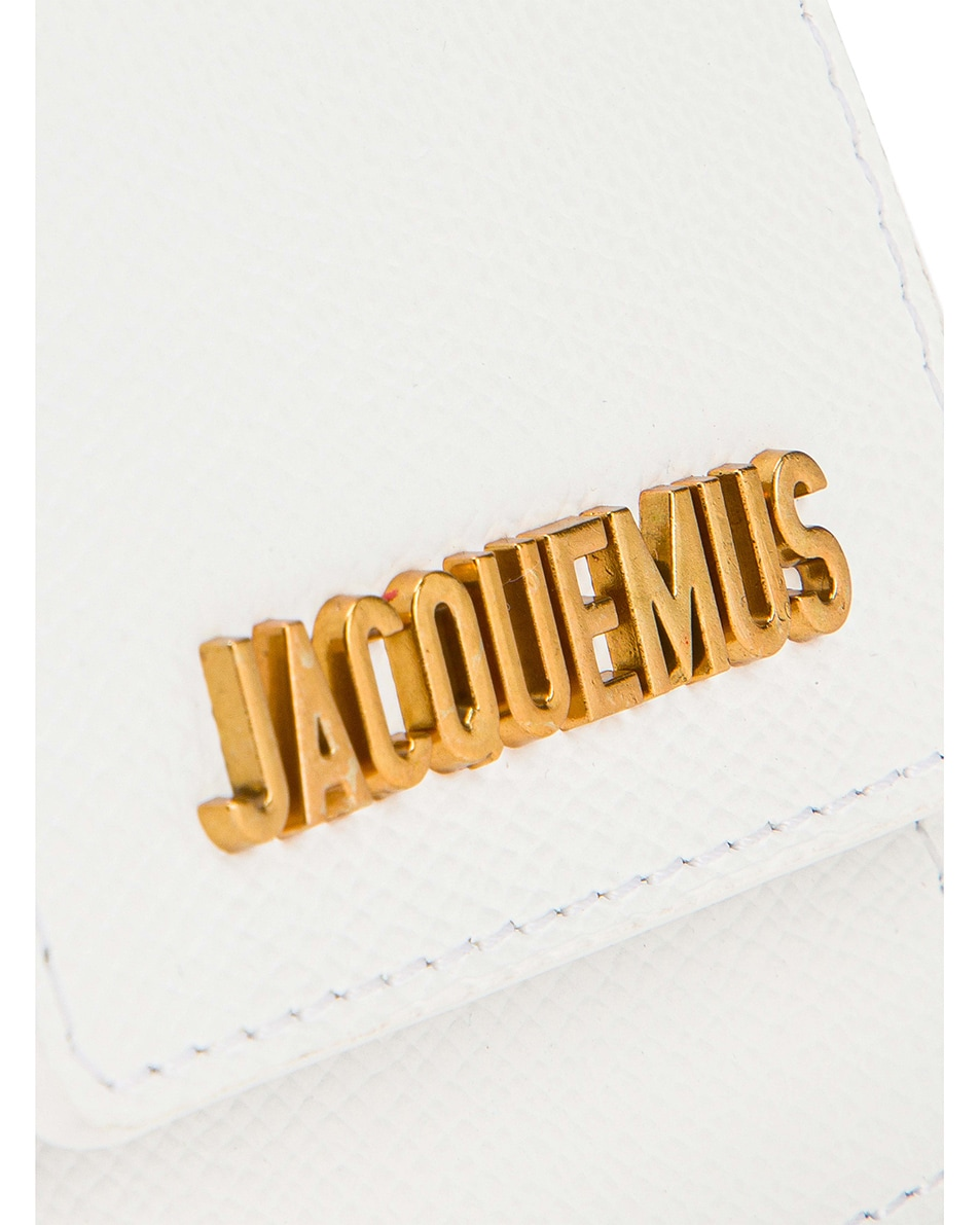 Image 6 of JACQUEMUS Le Sac Bracelet in White