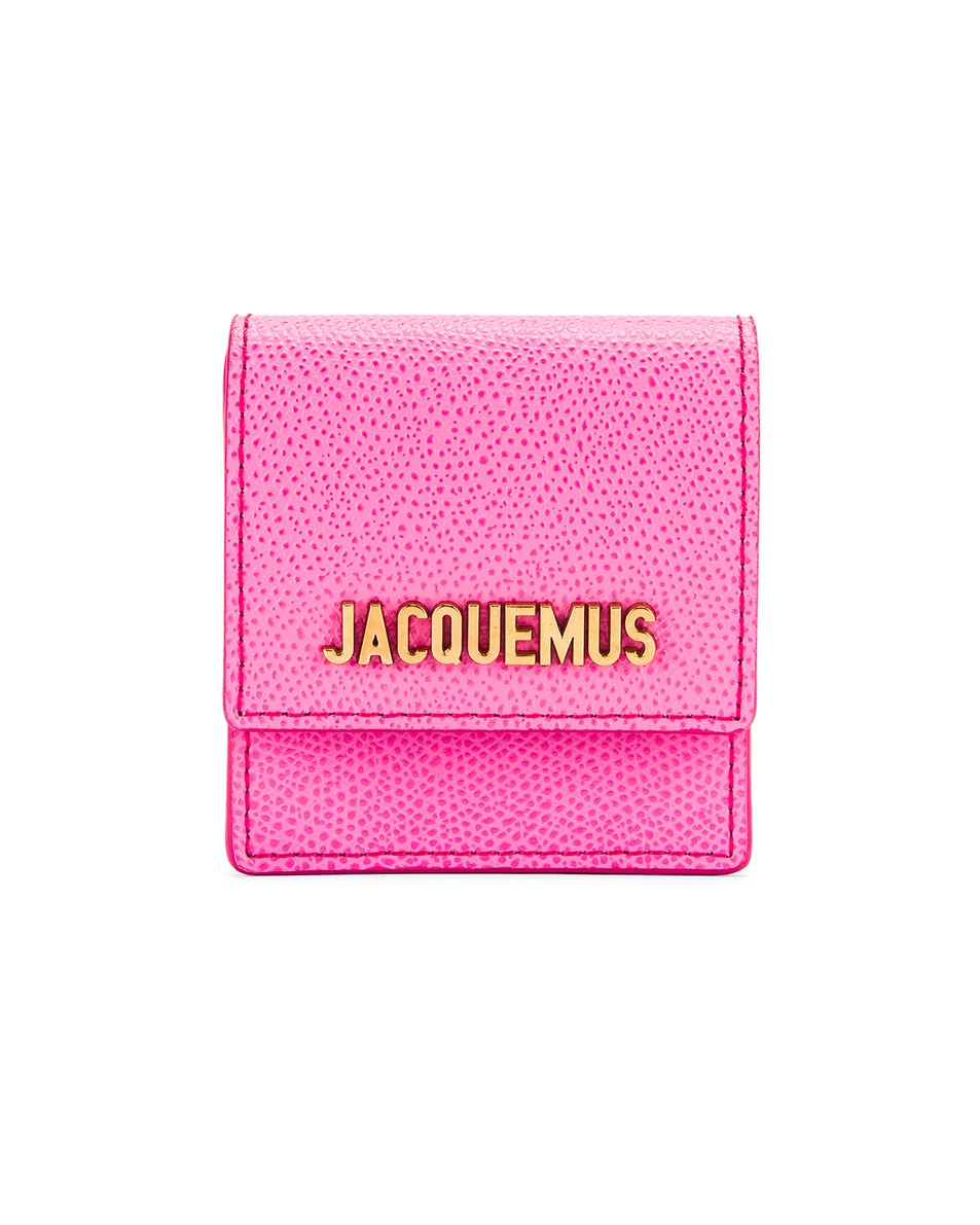 Image 1 of JACQUEMUS Le Sac Bracelet in Pink