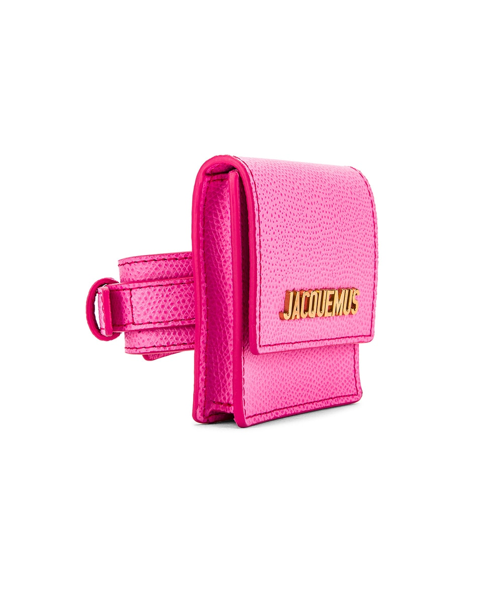 Image 4 of JACQUEMUS Le Sac Bracelet in Pink