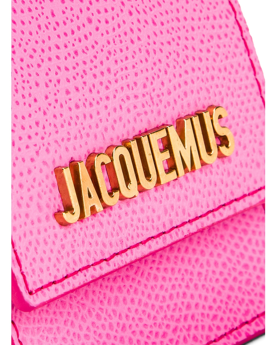 Image 6 of JACQUEMUS Le Sac Bracelet in Pink