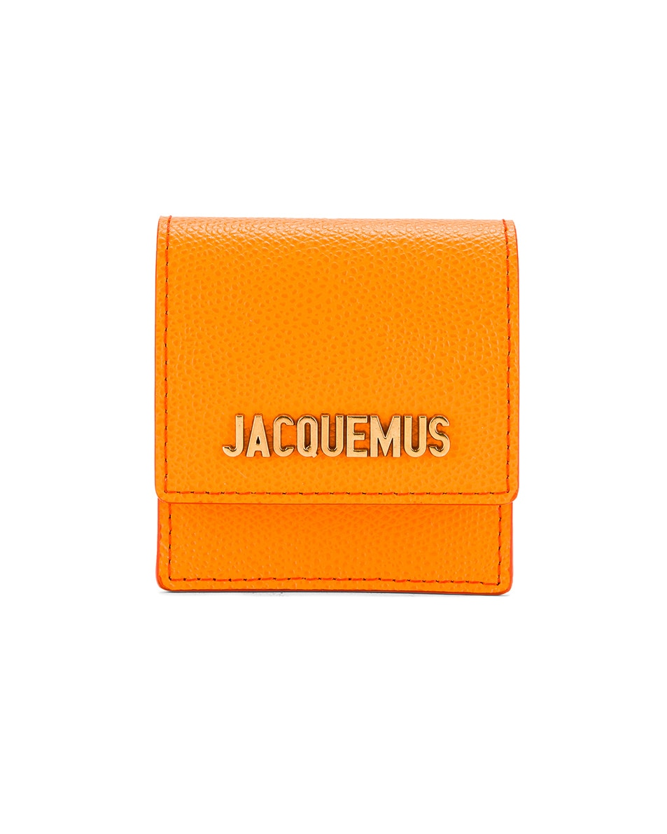Image 1 of JACQUEMUS Le Sac Bracelet in Orange