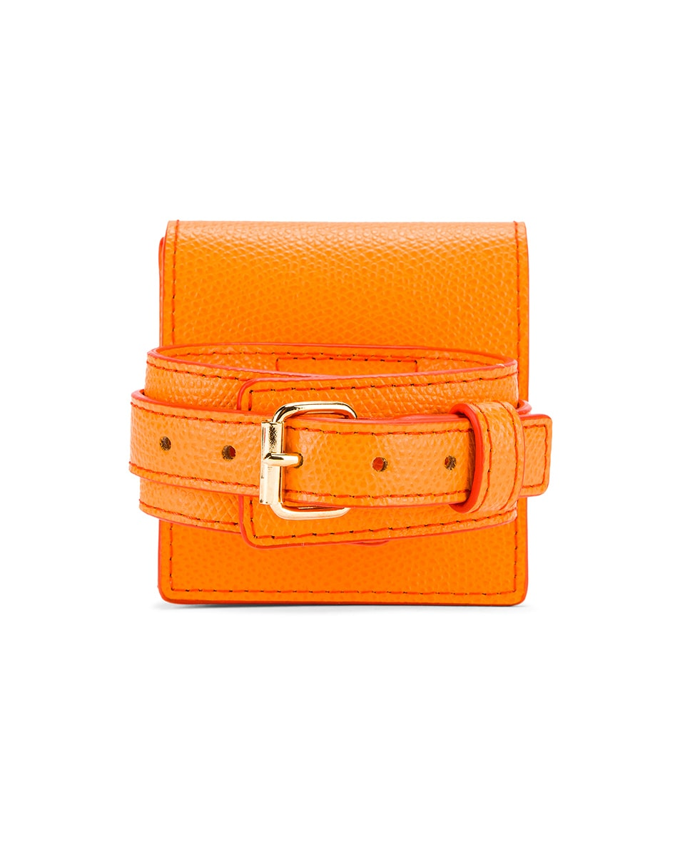 Image 3 of JACQUEMUS Le Sac Bracelet in Orange