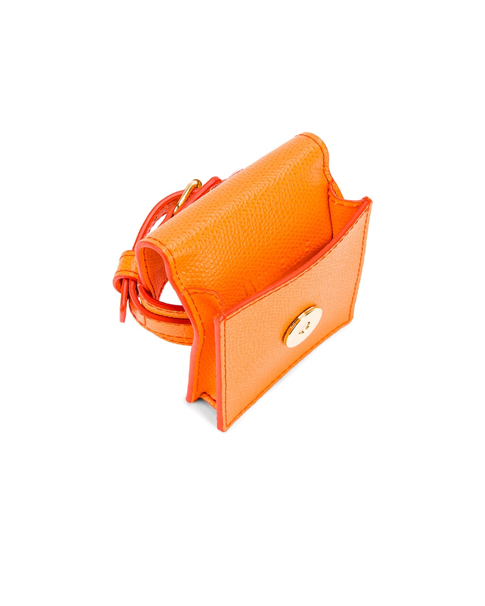 Image 5 of JACQUEMUS Le Sac Bracelet in Orange