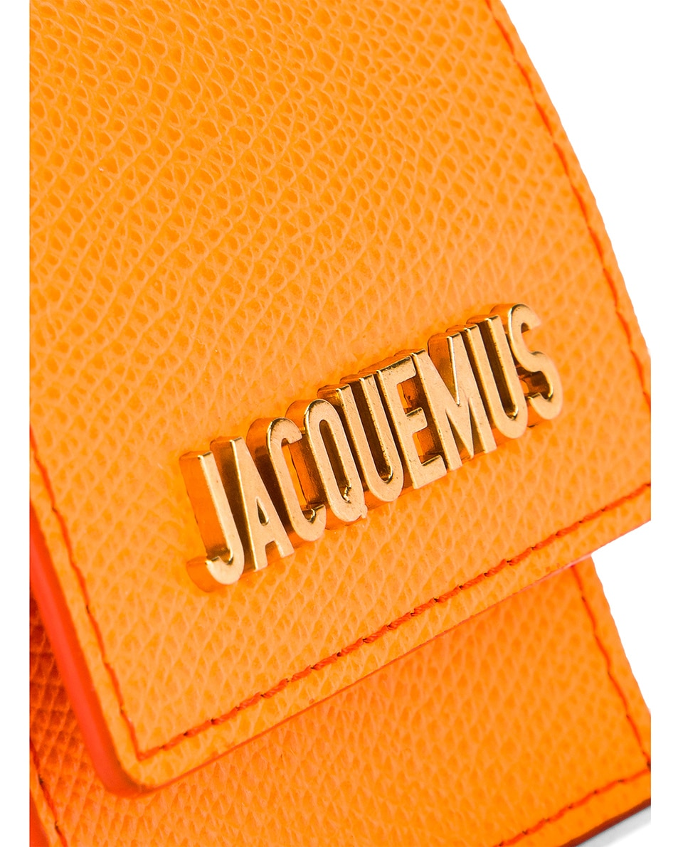 Image 6 of JACQUEMUS Le Sac Bracelet in Orange
