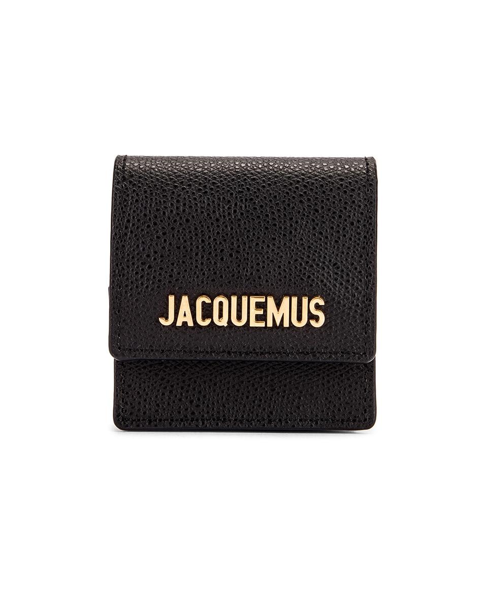 Image 1 of JACQUEMUS Le Sac Bracelet in Black