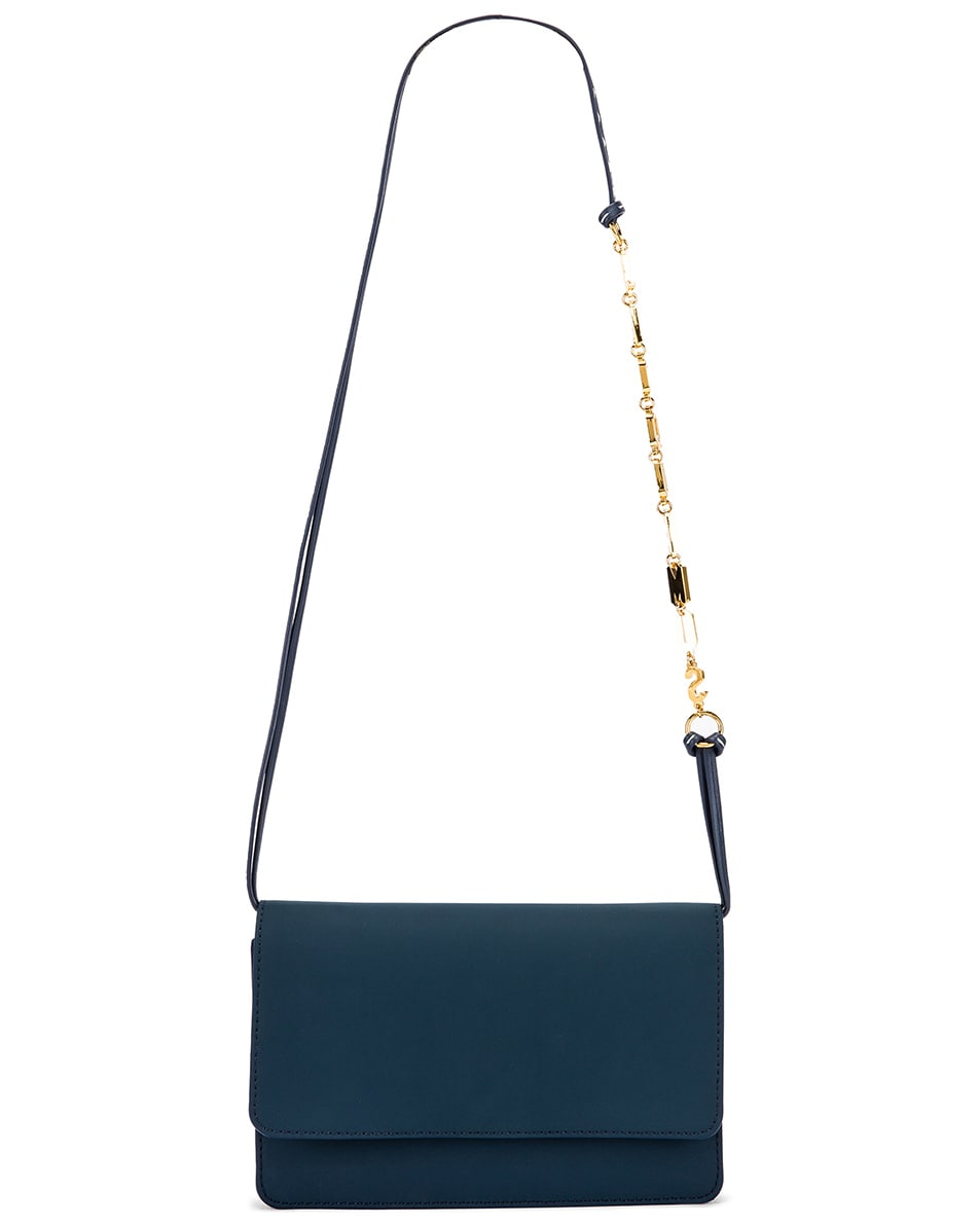 Image 6 of JACQUEMUS Le Sac Riviera in Navy