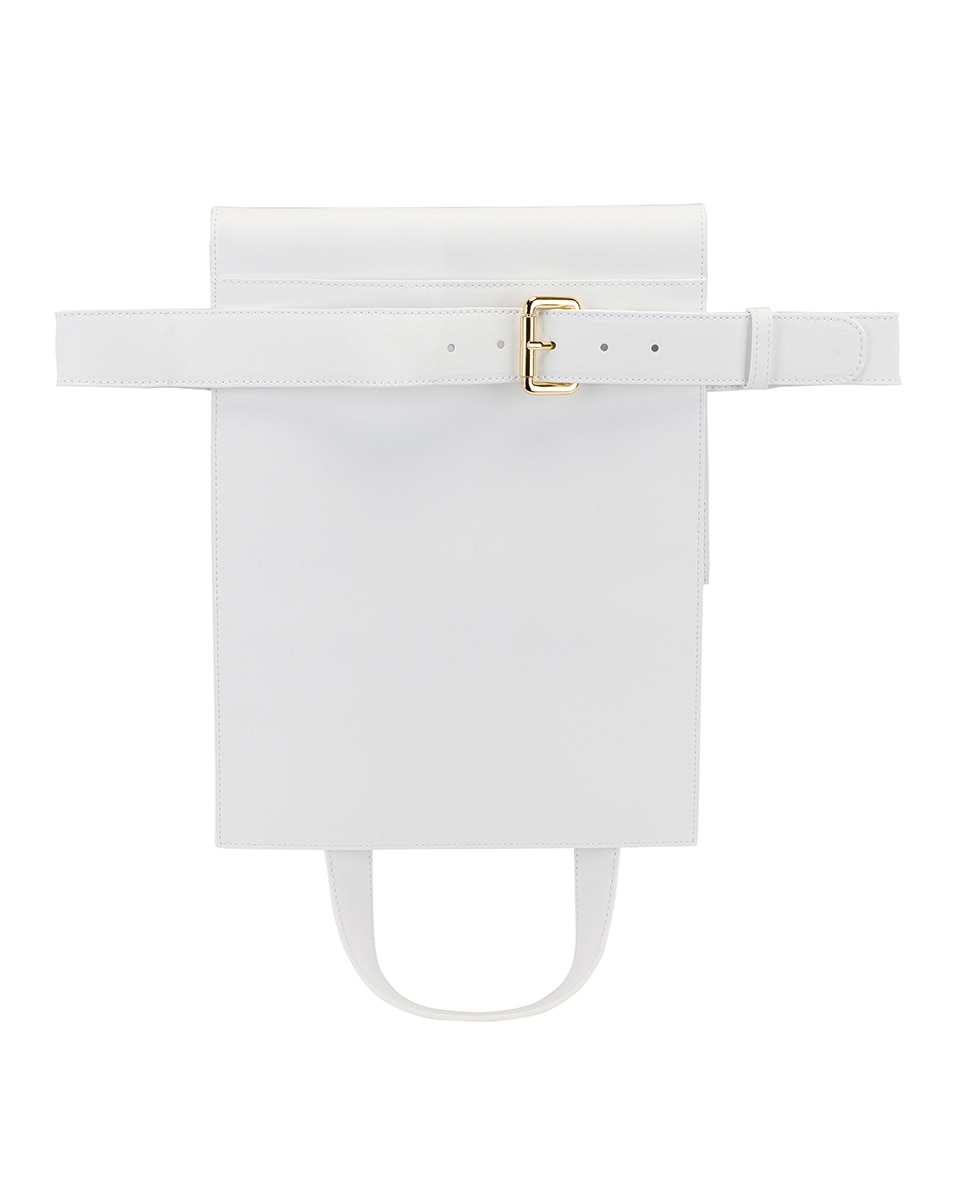 Image 3 of JACQUEMUS Le Sac Murano in White