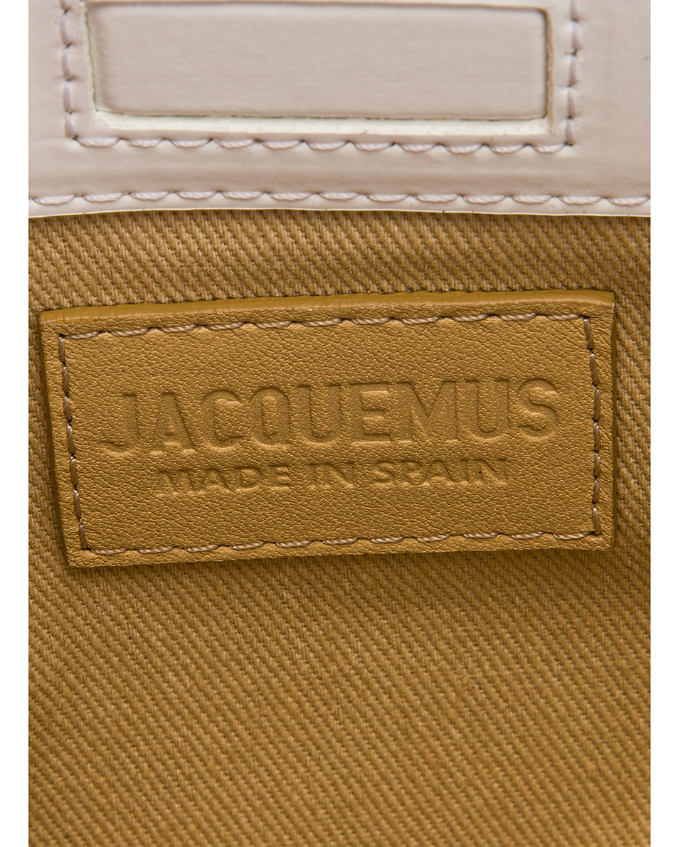 Image 6 of JACQUEMUS Le Sac Murano in White