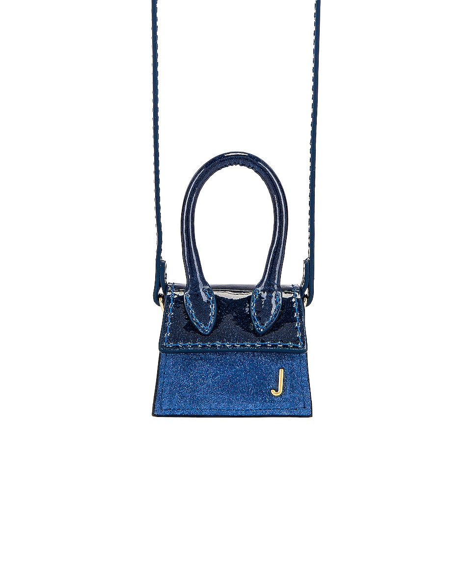 Image 1 of JACQUEMUS Le Petit Chiquito Bag in Shaded Blue