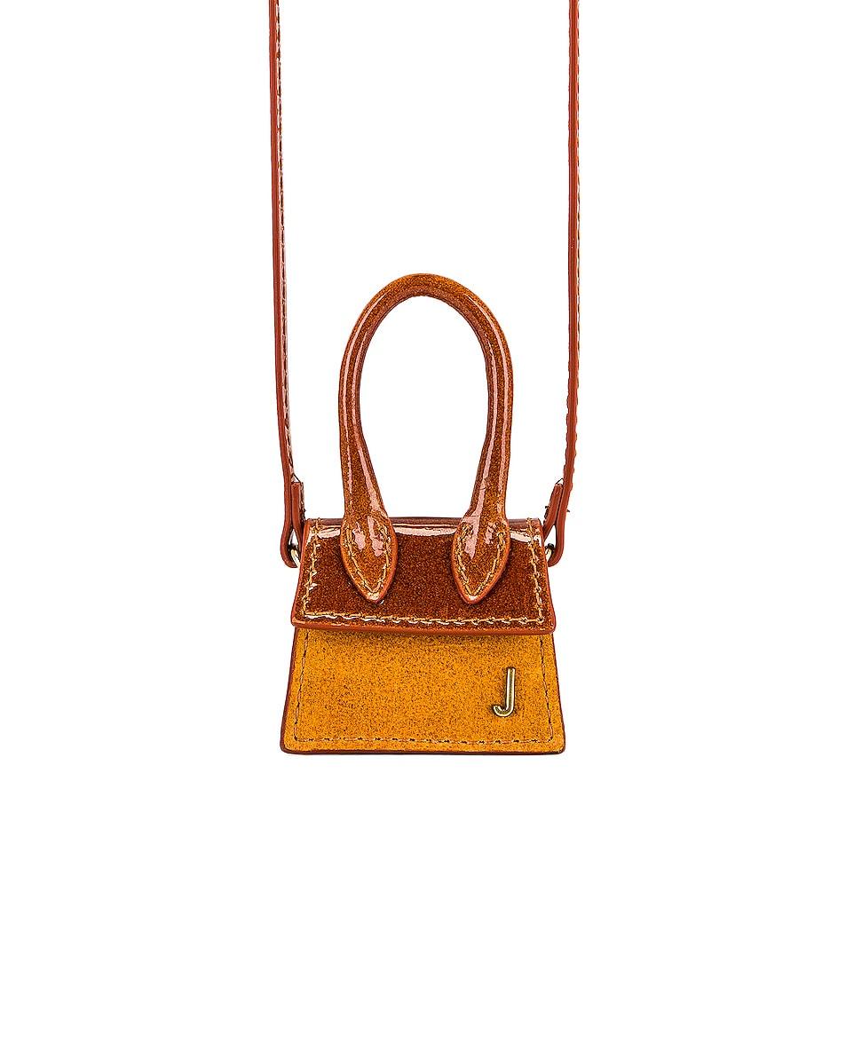 Image 1 of JACQUEMUS Le Petit Chiquito Bag in Shaded Orange