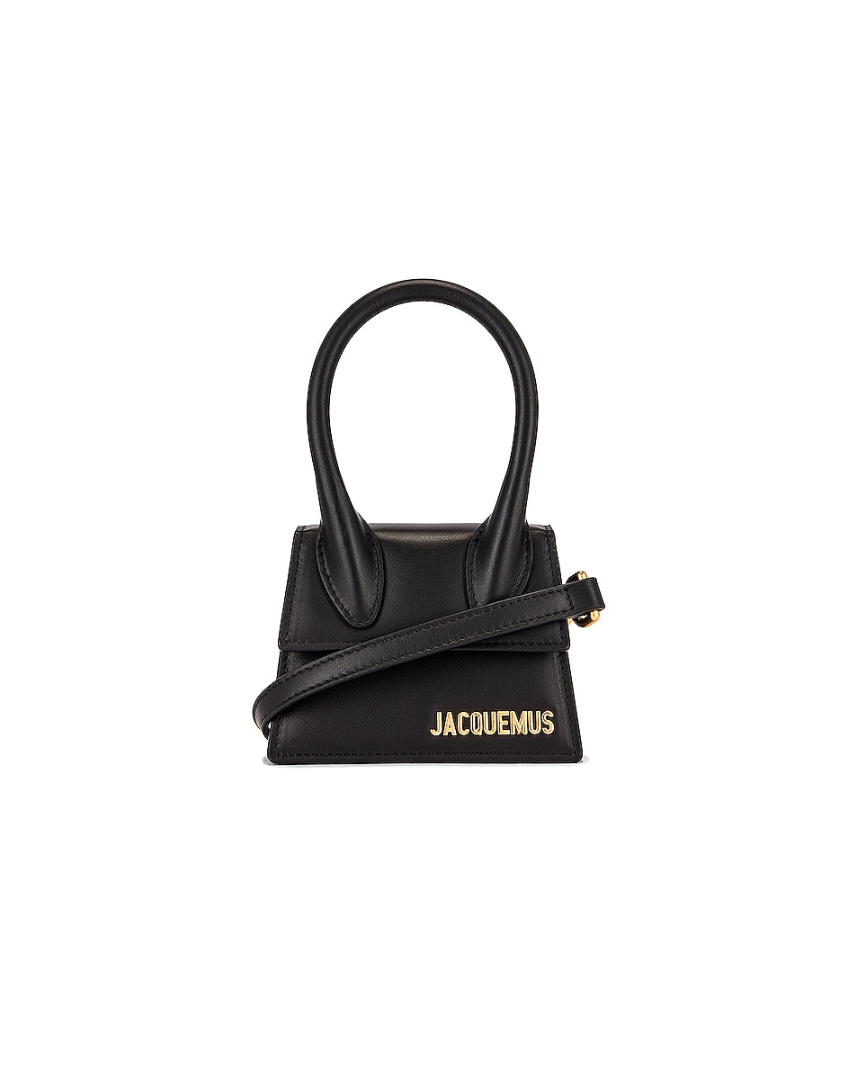 Image 1 of JACQUEMUS Le Chiquito Bag in Black