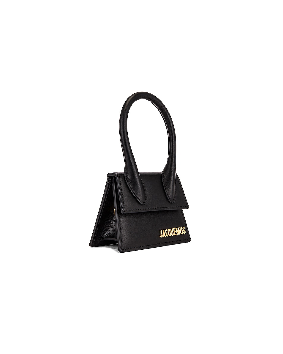 Image 4 of JACQUEMUS Le Chiquito Bag in Black