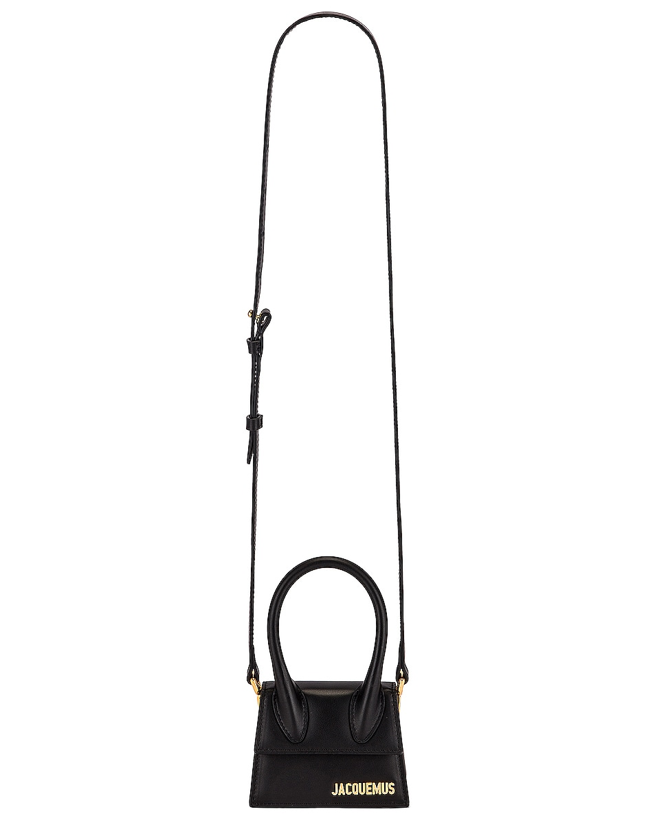 Image 6 of JACQUEMUS Le Chiquito Bag in Black