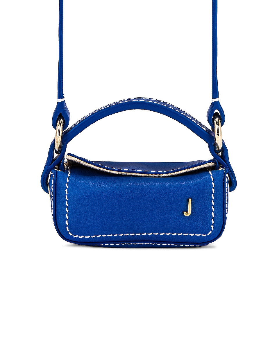 Image 1 of JACQUEMUS Le Nani Bag in Blue