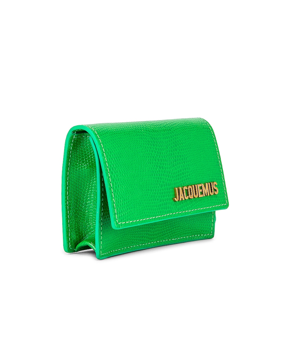 Image 4 of JACQUEMUS Le Bello Bag in Green