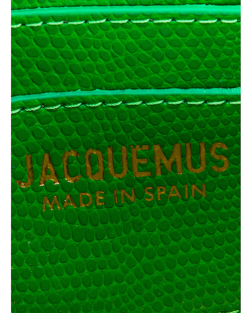Image 7 of JACQUEMUS Le Bello Bag in Green
