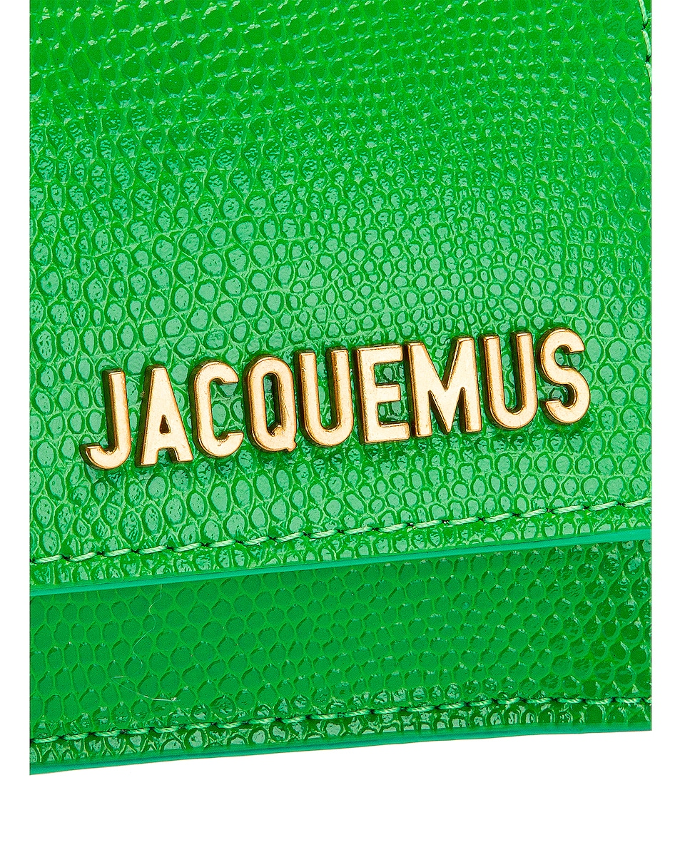 Image 8 of JACQUEMUS Le Bello Bag in Green