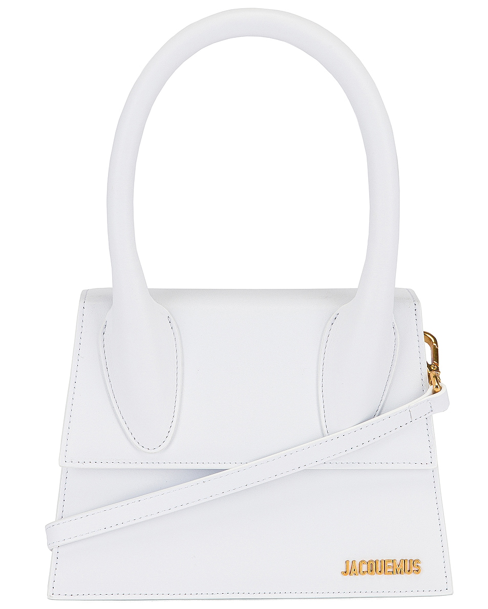 Image 1 of JACQUEMUS Le Grand Chiquito Bag in White