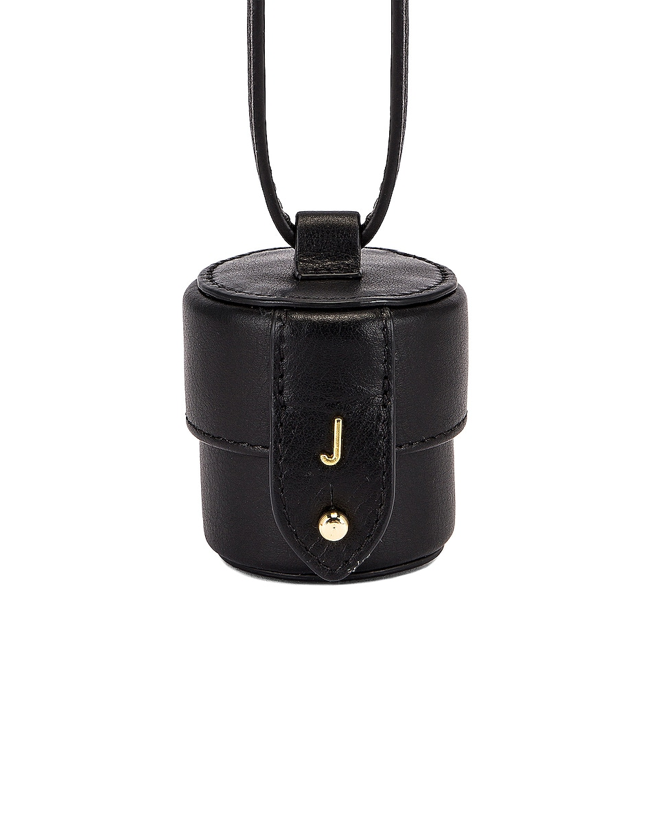 Image 1 of JACQUEMUS Le Micro Vanity Bag in Black