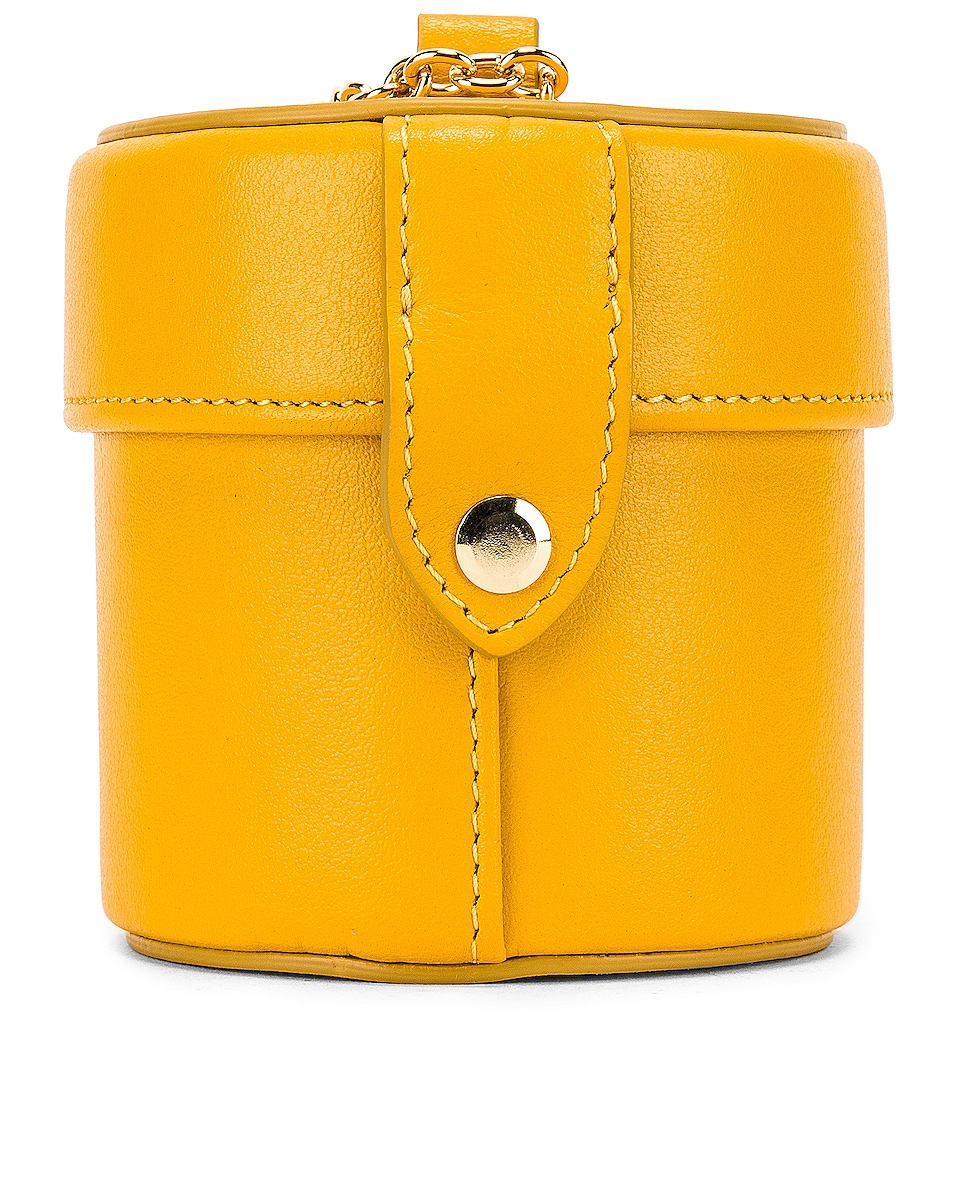 Image 3 of JACQUEMUS Vanity Bag in Yellow Leather