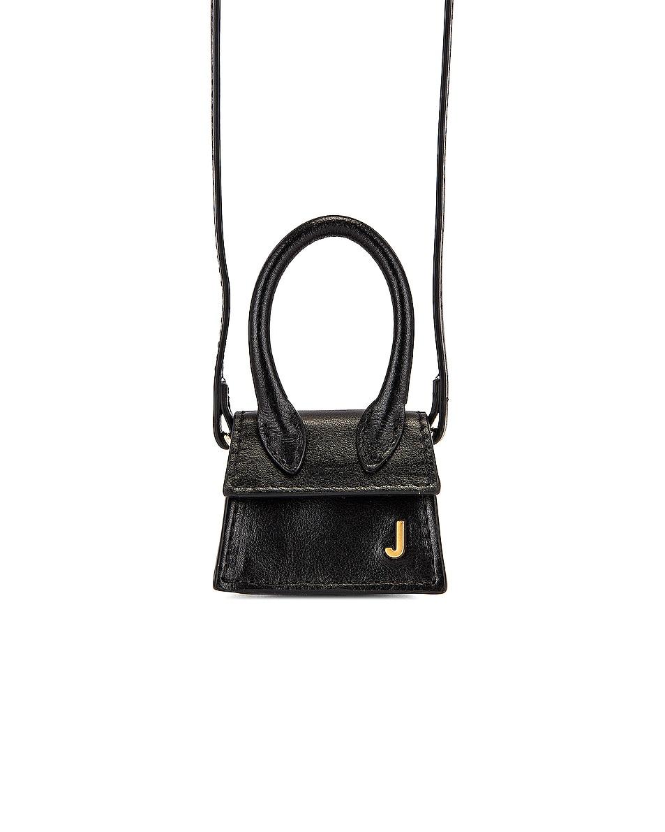 Image 1 of JACQUEMUS Le Petit Chiquito Bag in Black