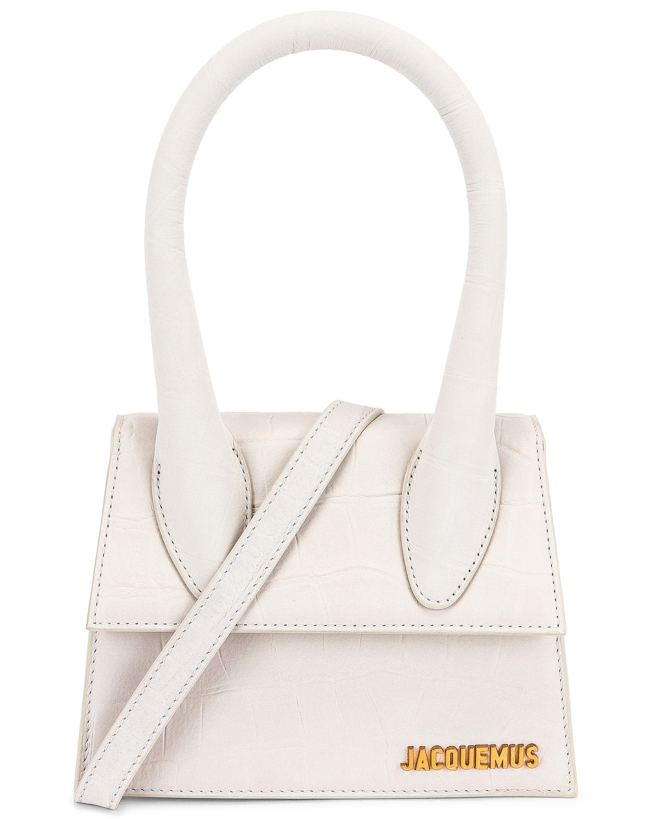 Image 1 of JACQUEMUS Le Chiquito Moyen Bag in White