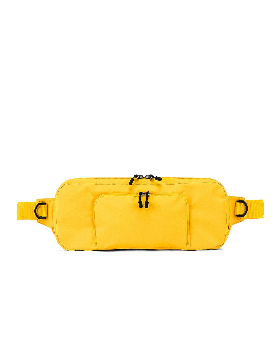 Image 1 of Junya Watanabe Fanny Pack in Yellow