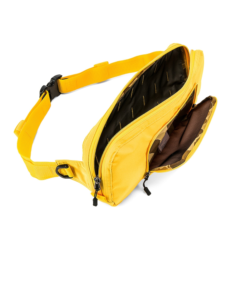 Image 5 of Junya Watanabe Fanny Pack in Yellow