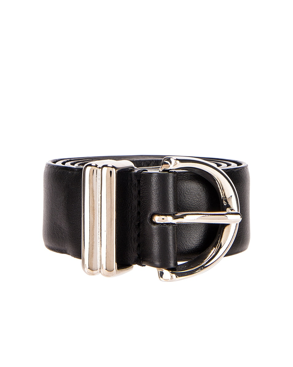 Image 1 of KHAITE Bambi Belt in Black