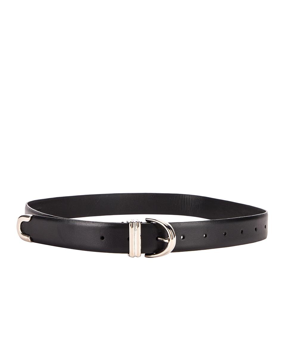 Image 2 of KHAITE Bambi Belt in Black