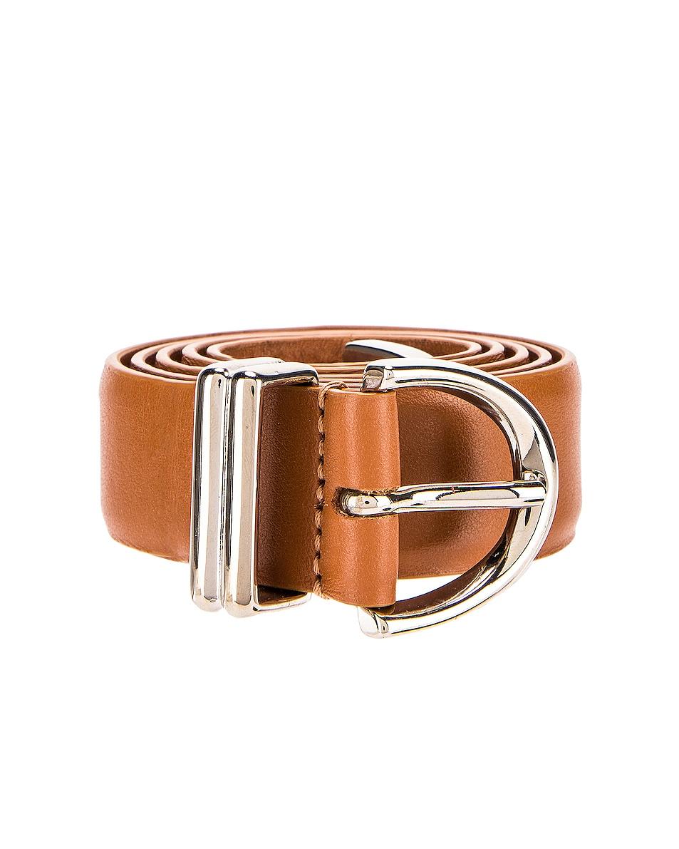 Image 3 of KHAITE Bambi Belt in Caramel