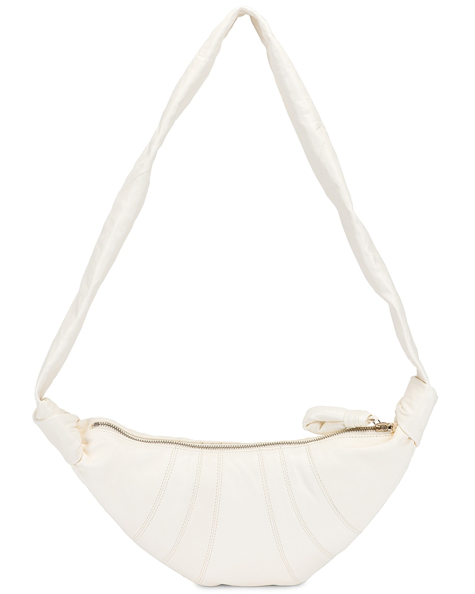 Image 3 of Lemaire Small Bum Bag in Off White