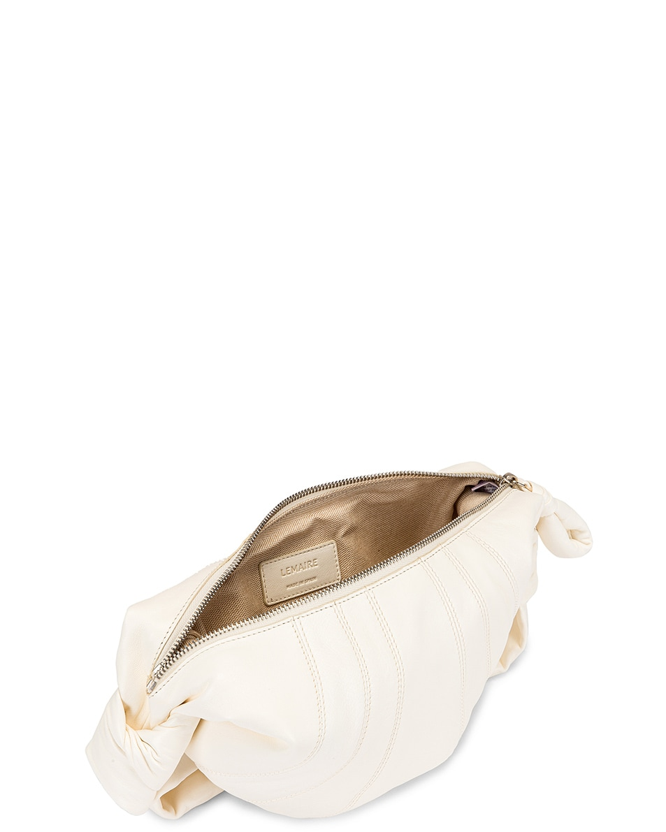 Image 5 of Lemaire Small Bum Bag in Off White