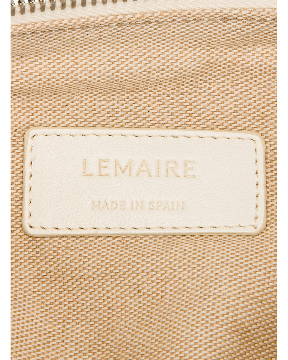Image 6 of Lemaire Small Bum Bag in Off White