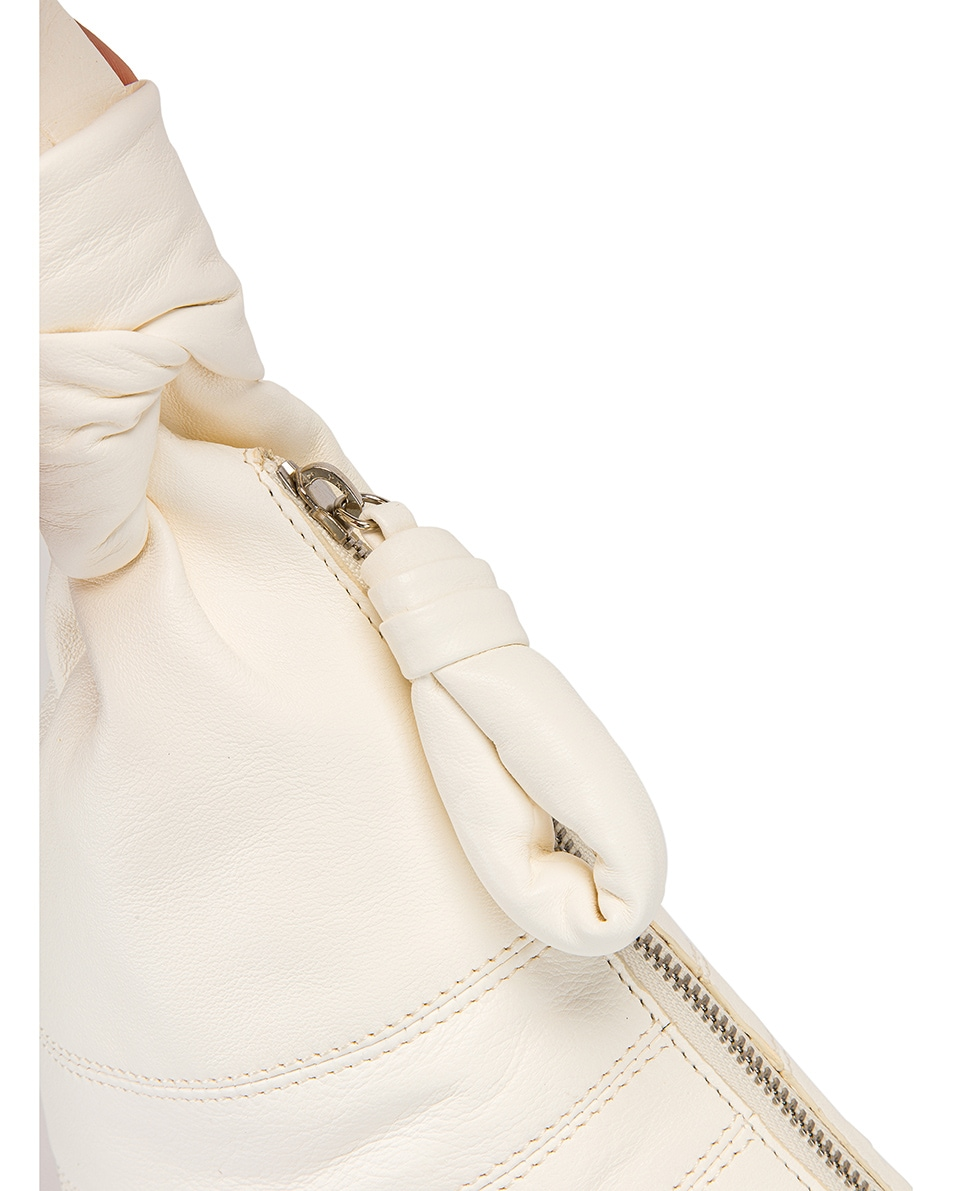 Image 7 of Lemaire Small Bum Bag in Off White