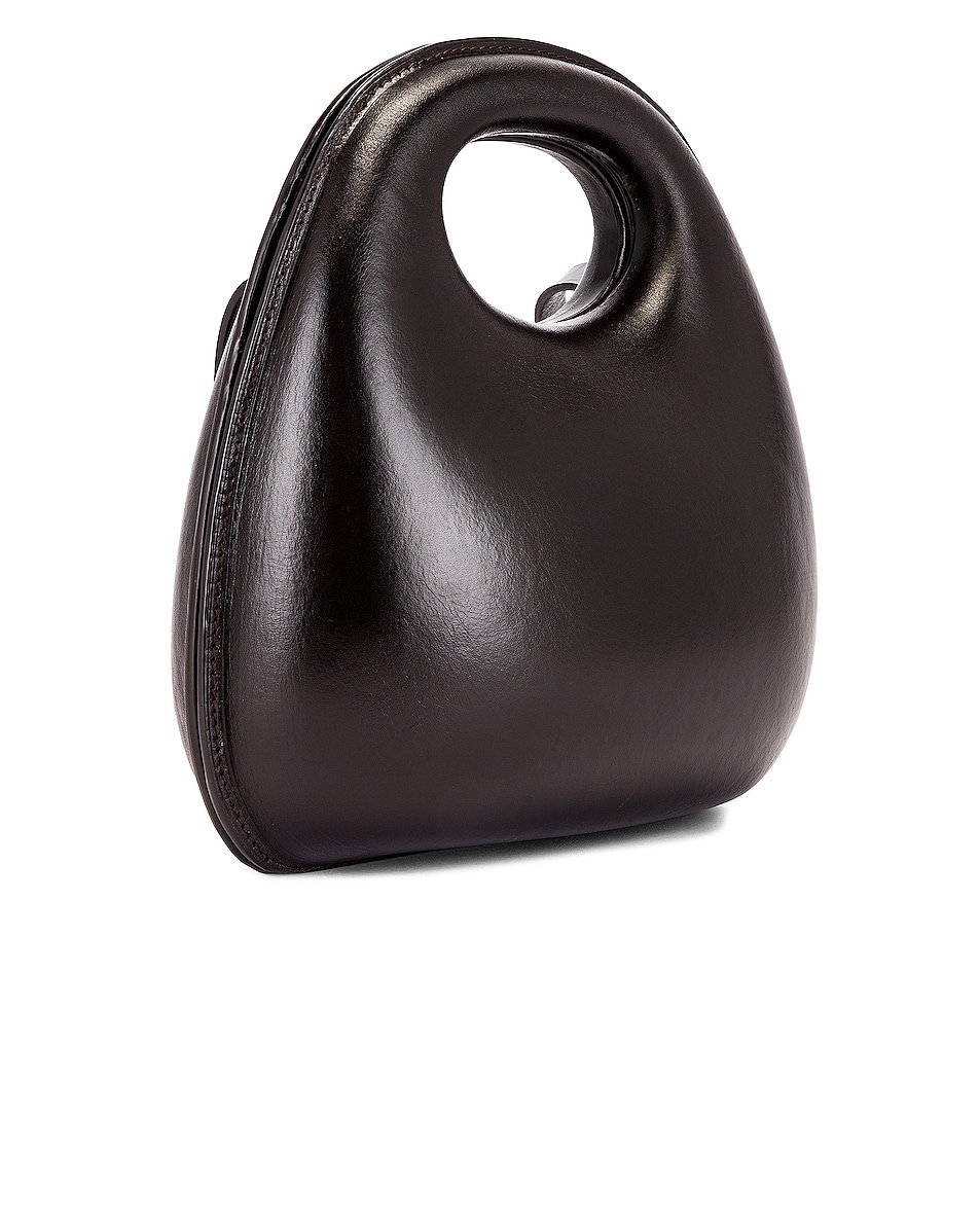Image 4 of Lemaire Egg Bag in Dark Chocolate