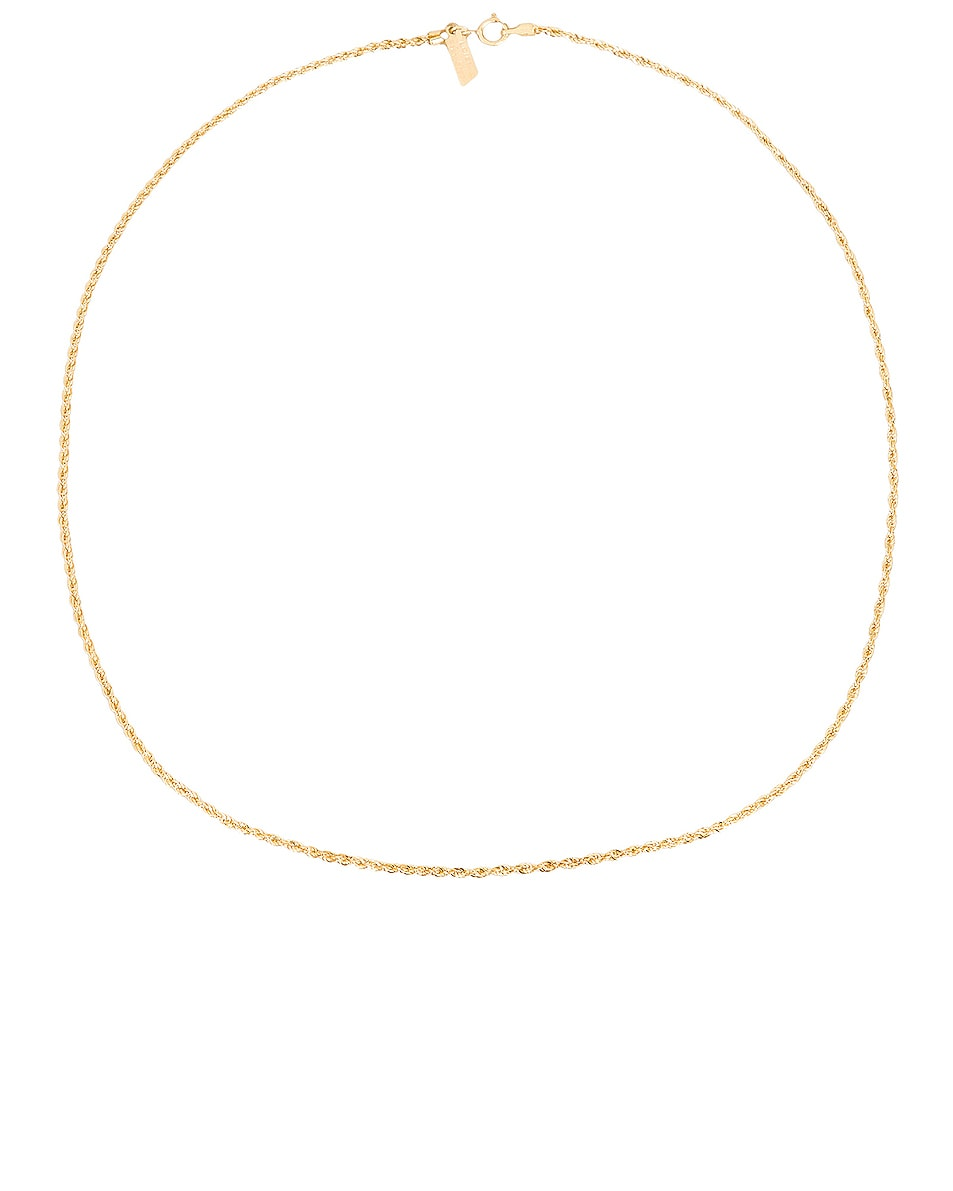 Image 1 of Loren Stewart Rope Chain Necklace in Yellow Gold