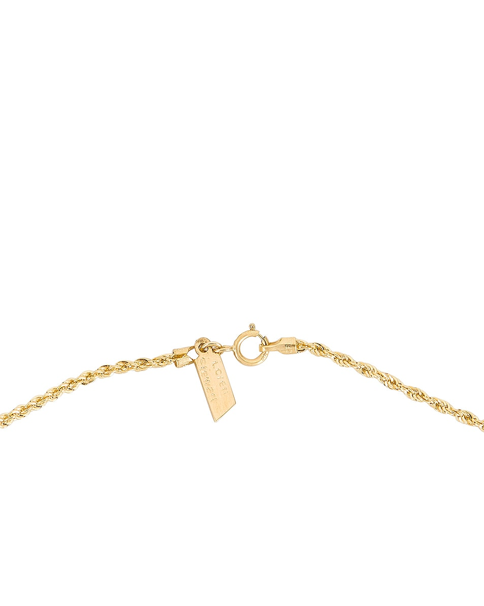 Image 4 of Loren Stewart Rope Chain Necklace in Yellow Gold