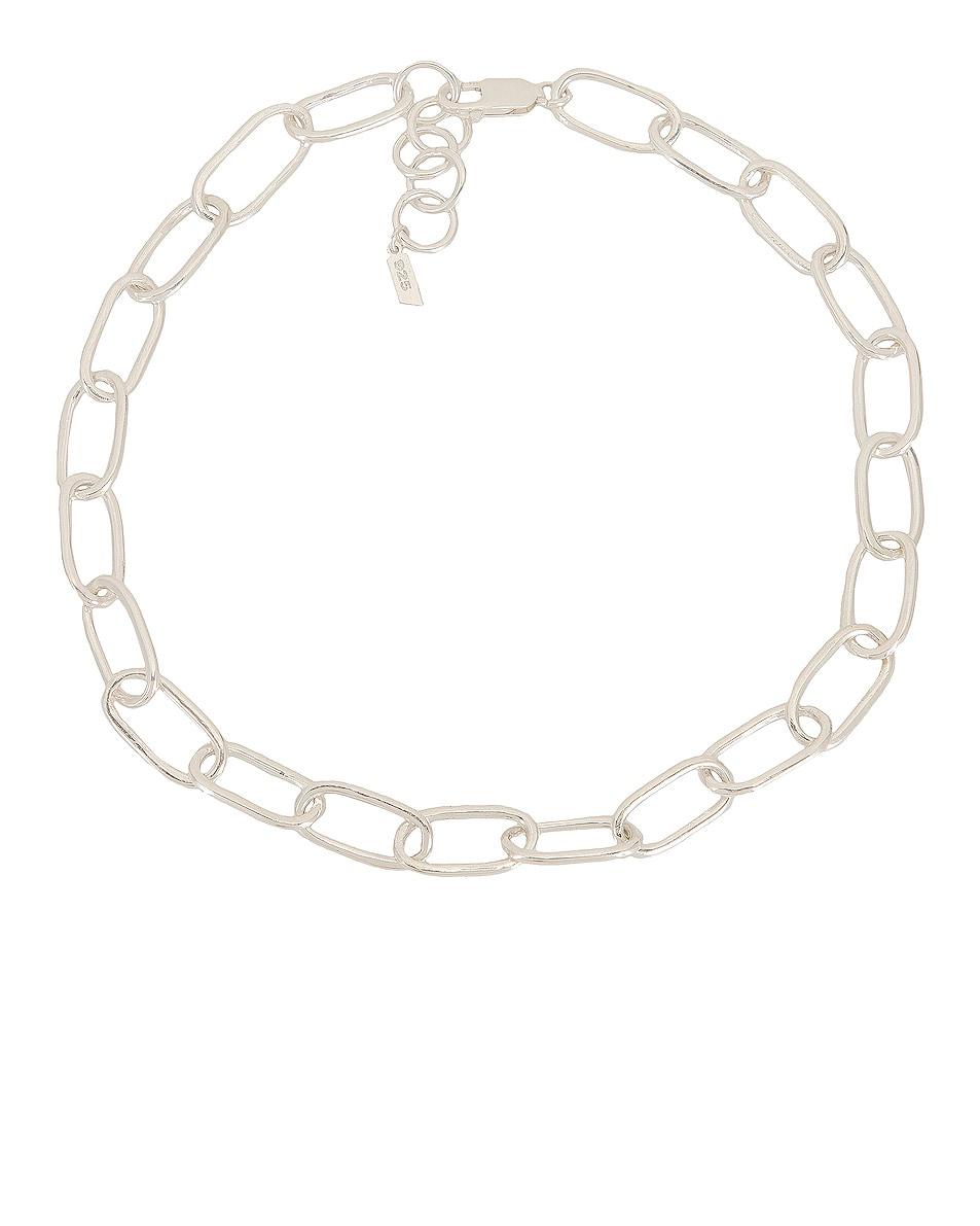 Image 1 of Loren Stewart XXL Long Link Necklace in Sterling Silver