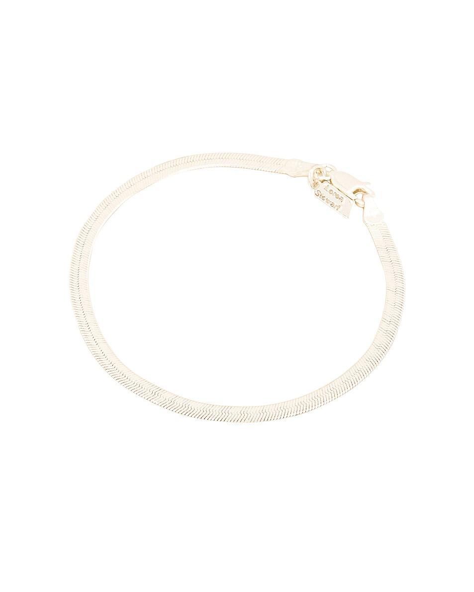 Image 1 of Loren Stewart Herringbone Bracelet in Sterling Silver