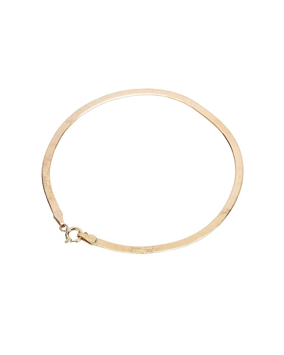 Image 3 of Loren Stewart Herringbone Bracelet in Yellow Gold